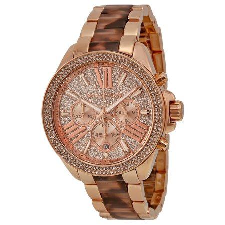 Michael Kors Women's Watches Wren Crystal Pave Dial Chronograph MK6096