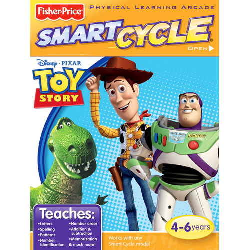 Fisher Price Smart Cycle Software - Toy Story