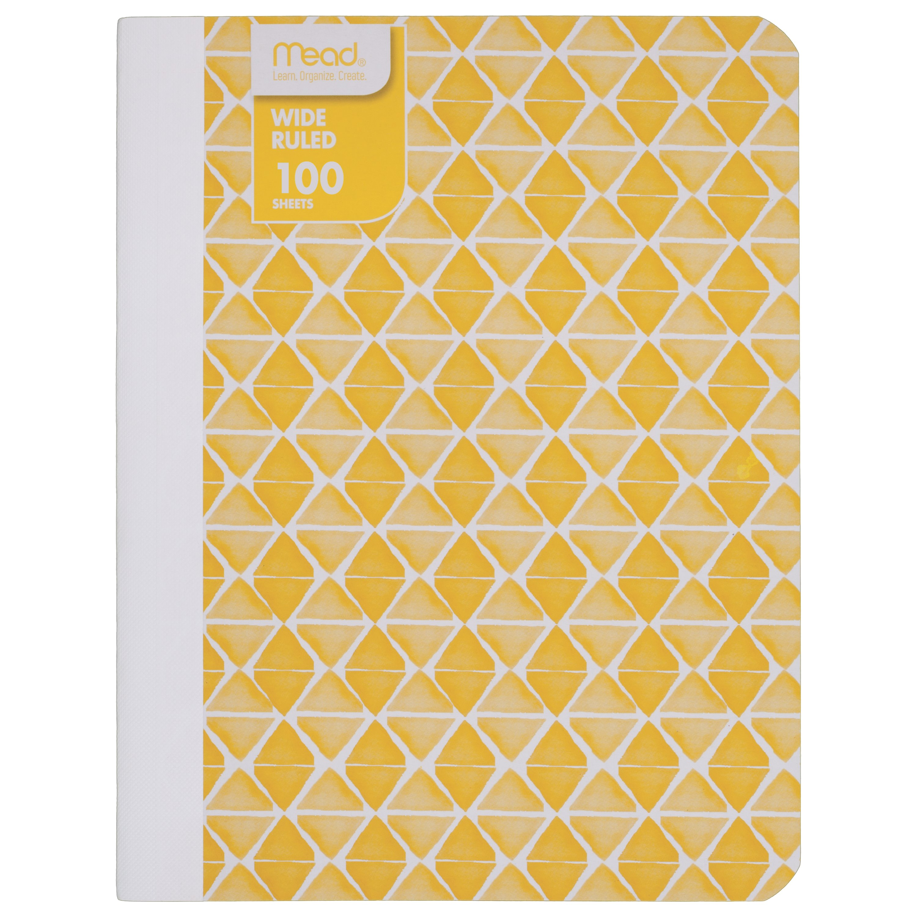 Mead® Fashion Composition Book, Wide Ruled, 100 Sheets,Colors May Vary