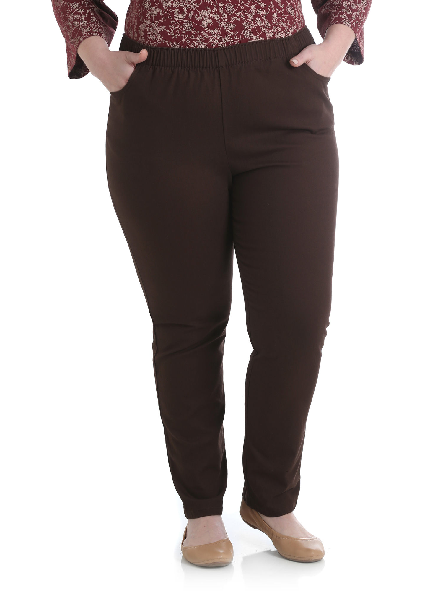 Women's Plus Stretch Twill Pull On Pant