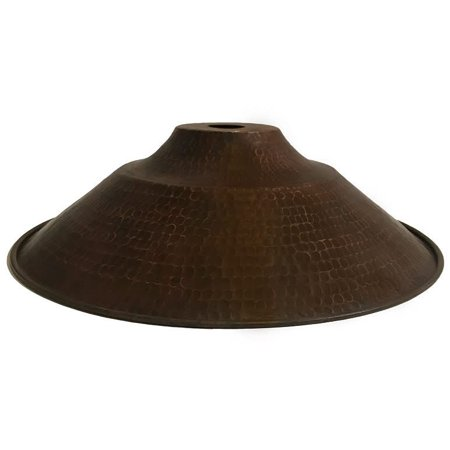 Premier Copper Products SH-L400DB Oil Rubbed Bronze Hand Hammered 13