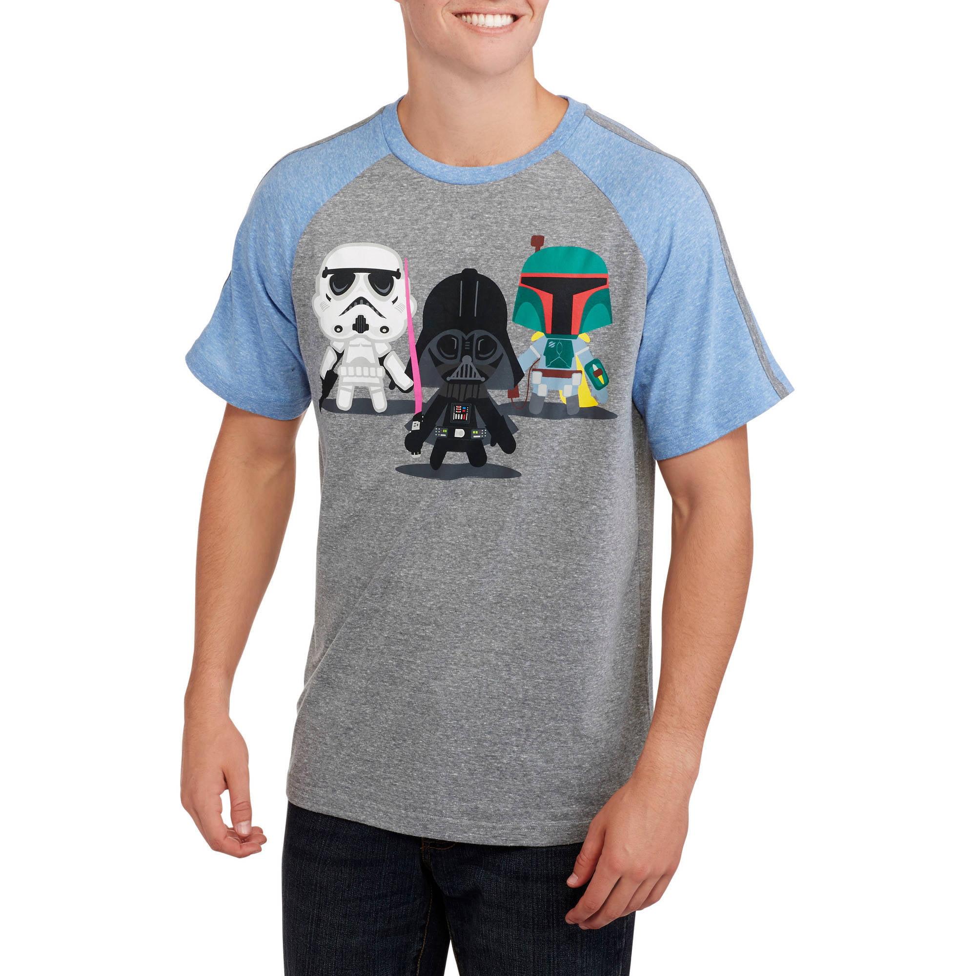Star Wars Character Remix Big Men's Graphic Tee, 2XL