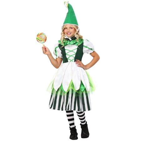 Child Deluxe Girl Munchkin Costume (Munchkin Mayor Costume)