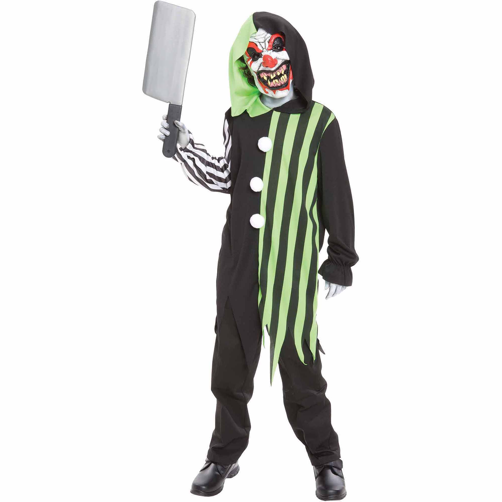 Killer Clown Halloween Costumes For Girls.Cleaver The Clown Child Halloween Costume