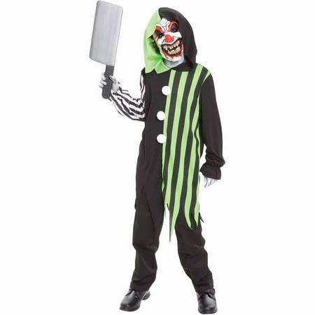 Cleaver the Clown Child Halloween Costume - Bad Clown Costume