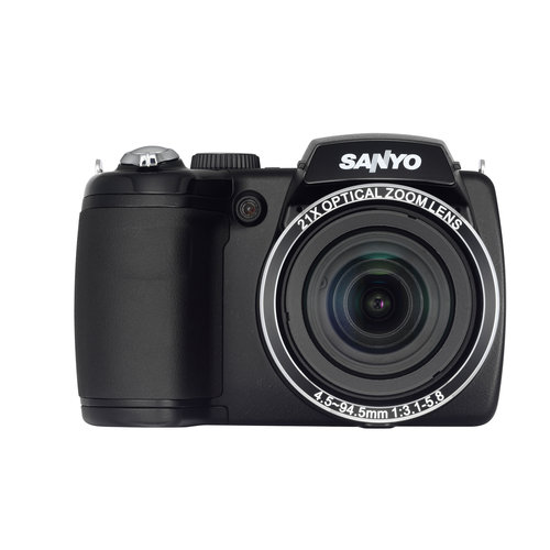 Sanyo VPC-E2100BK 14MP Digital Camera, 14MP, 21x zoom (25...