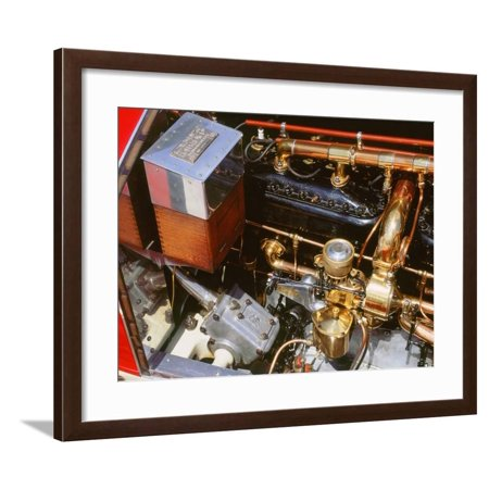 1912 Rolls Royce Silver Ghost Framed Print Wall