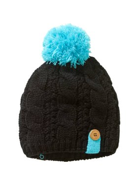 8ecdc4d82fd Product Image Ladies Beanie w Pom and Button