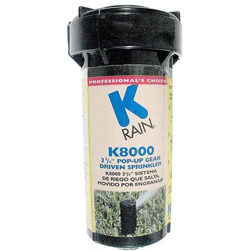 K Rain 81031 K8000 3-3 4 in Pop-Up Gear Drive Sprinkler by K Rain
