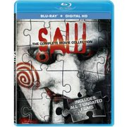 Saw: The Complete Movie Collection (Blu-ray + Digital HD) (Widescreen) $8.82 at  walmart.com online deal