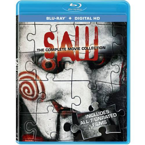 Saw: The Complete Movie Collection (Blu-ray + Digital HD) (Widescreen)