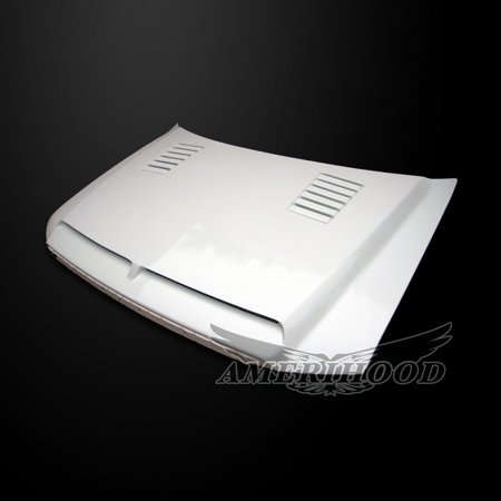 Ford F-150 2004-2008 Type-E Style Functional Heat Extractor Ram Air (Functional Ram Air Hood)