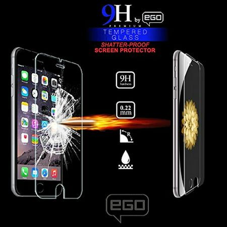 EGO Premium Tempered Glass Screen Protector for Apple Apple iPhone 5,5s and iPhone SE phones with Magpul Industries Field, Limited Edition or Bump Cases, (MAG452/454 Styles) ()