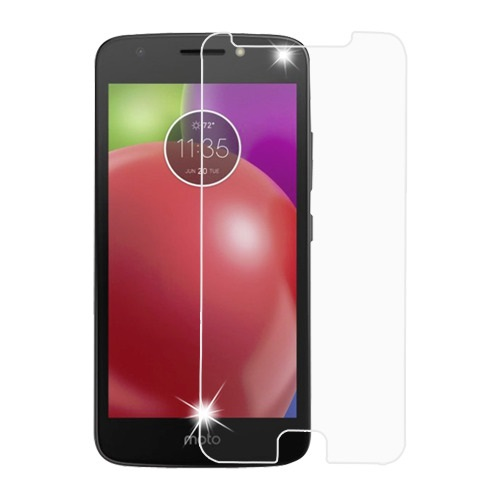 For Motorola Moto E4 XT1792 Clear Tempered Glass Screen Protector Film (2.5D)