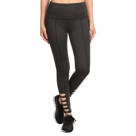 Women'sHigh Waist Sports Performance Slim Activewear Yoga Legging Pants, M