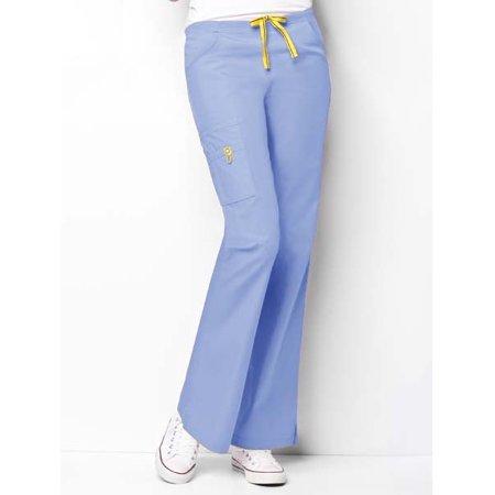 fc177d66d63 Wonderwink - Clearance Origins By Women's Romeo Classic Rise Slim Scrub  Pant Medium Malibu Blue - Walmart.com