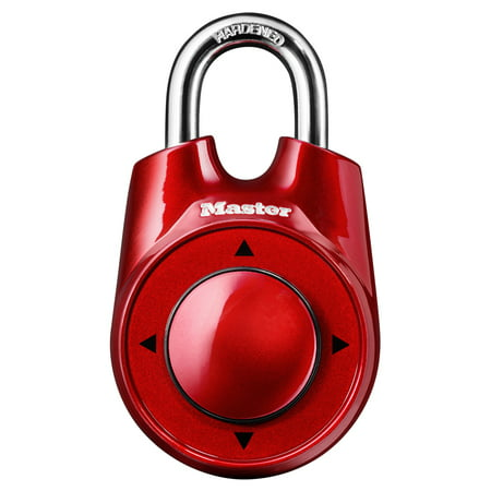 Own Combination Luggage Lock (Master Lock Padlock 1500iD Set Your Own Directional Combination, 2-1/8in (54mm) Wide, Assorted Colors)