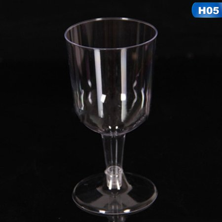 Fancyleo 6Pcs Plastic Wine Glass Champagne Goblet Cocktail Cups Party Wedding  Selling](Halloween Champagne Cocktails)