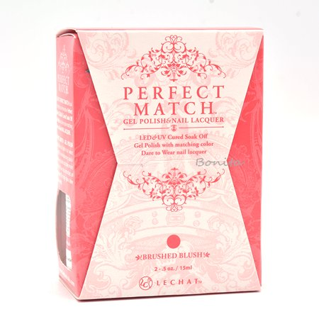 Lechat Perfect Match Gel Polish + Matching Nail Polish Color Me Autumn Collection PMS237 Brushed Blush](Autumn Halloween Nails)