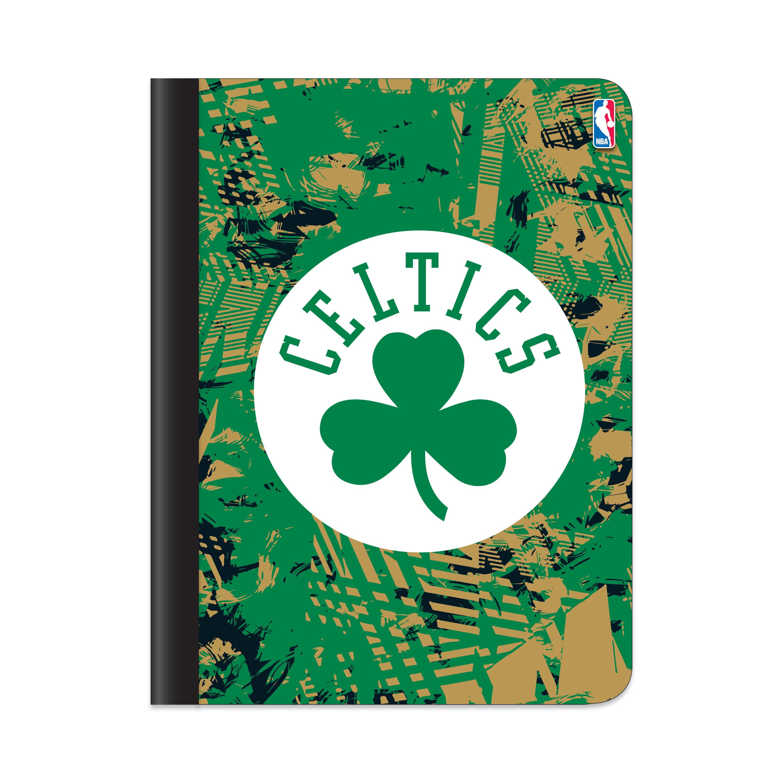 Boston Celtics Active Static Composition Book