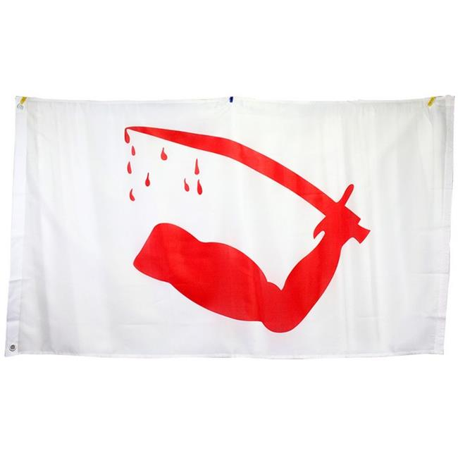 7025 Super Polyester Dimmits Goliad Flag Of Texas Flag Indoor Outdoor, 3 x 5 inch