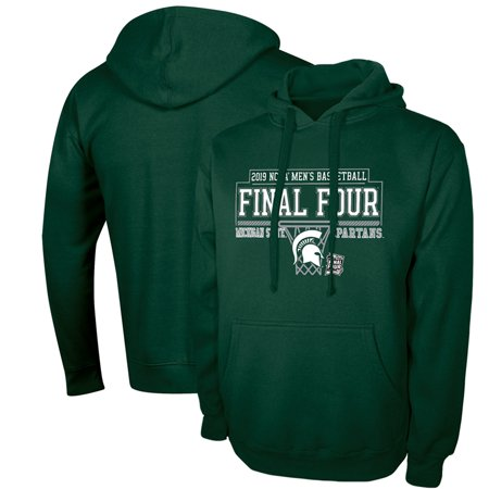 Michigan State Spartans Russell 2019 NCAA Men's Basketball Tournament March Madness Final Four Bound Pullover Hoodie - Green