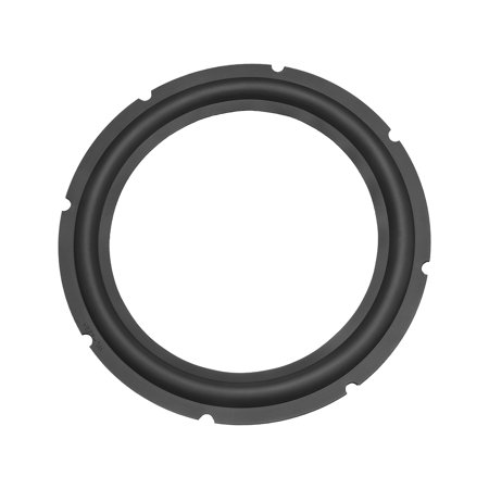 10 inch Perforated Rubber Speaker Edge Surround Rings Replacement Part for Speaker Repair or DIY ()