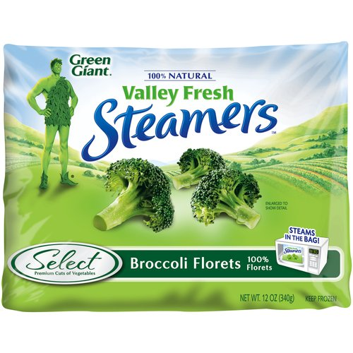 Green Giant Valley Fresh Steamers Broccoli Florets, 12 oz