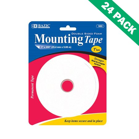 Foam Mounting Tape, Double Sided Foam Adhesive Tape Foam For Craft (24 (Side Mount Unit)
