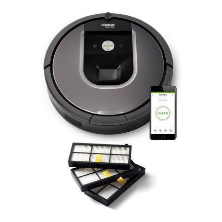 iRobot Roomba 960 Robot Vacuum with Wi-Fi with Roomba Filters
