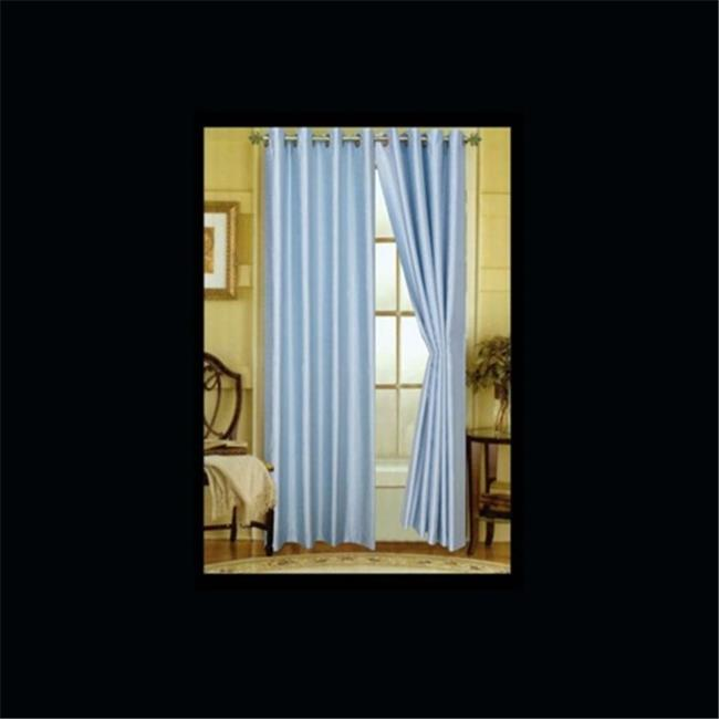 Editex 95 inch Elaine Faux Silk Panel with Grommets