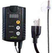BN-LINK Digital Heat Mat temperature Thermostat Controller for Seed Germination  Reptiles and Brewing, 40-108F