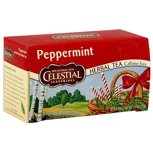 Celestial Seasonings Peppermint Tea, 20ct (pack Of 6)