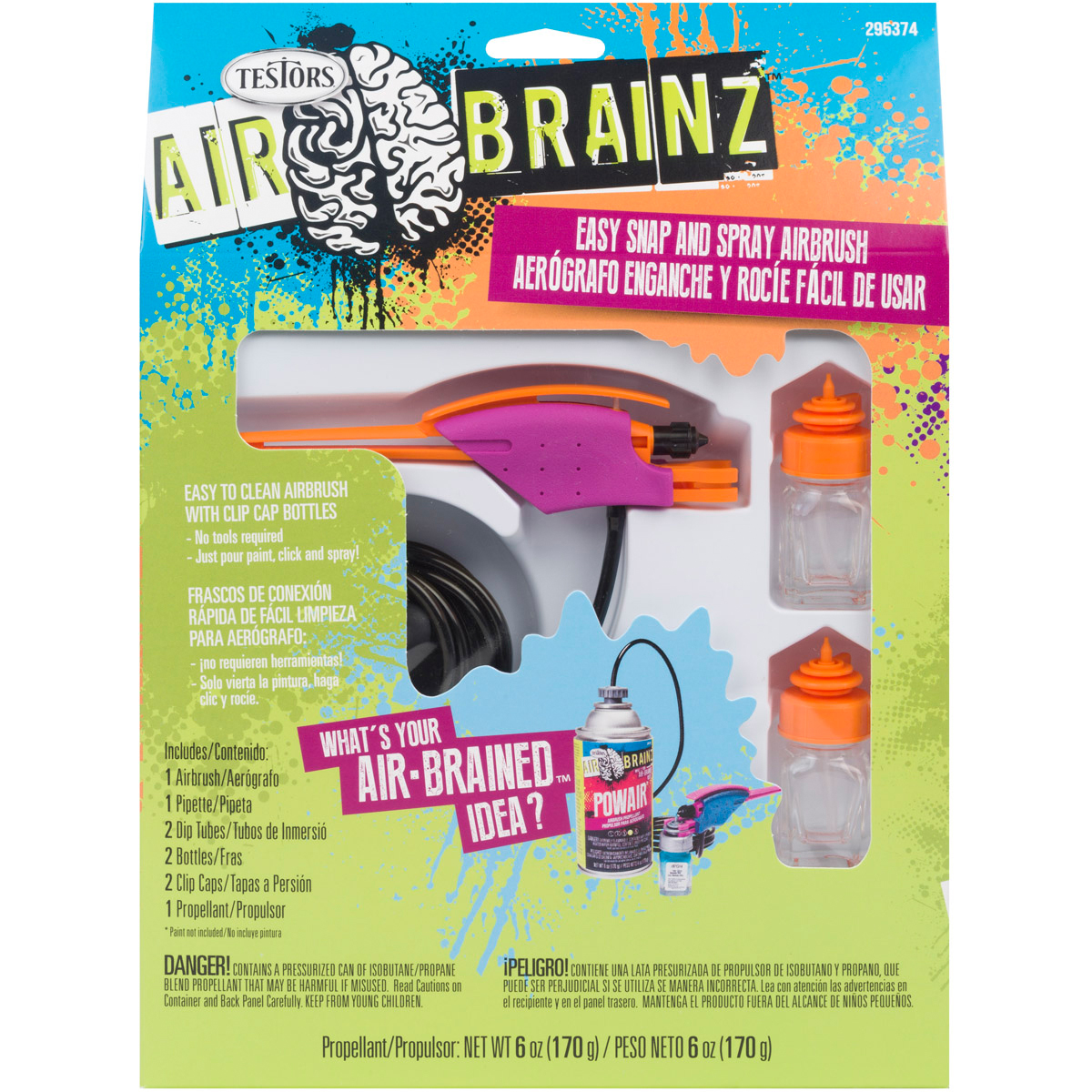 Image of Airbrainz Easy Snap and Spray Airbrush