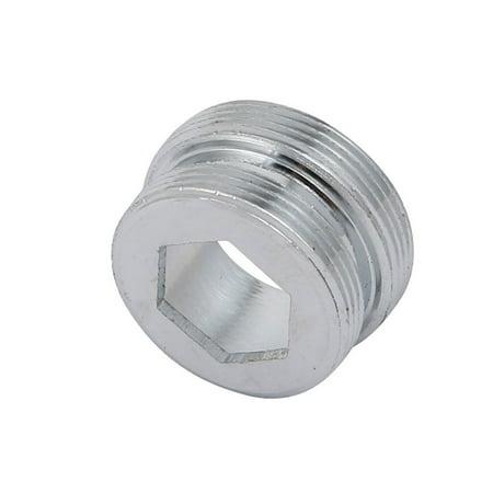 Unique Bargains 3pcs M22 Male to M24 MaleThread Metal Faucet Adapter for Water Purifier - image 1 de 4