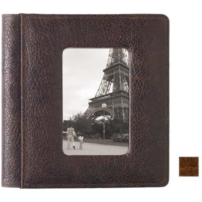 Raika VI 169 COGNAC 4inch x 6inch Framed-Front Photo Album Single - Cognac