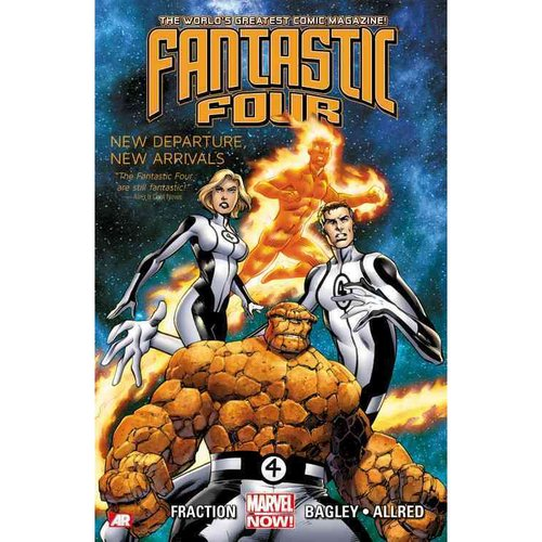 Fantastic Four 1: New Departure, New Arrivals