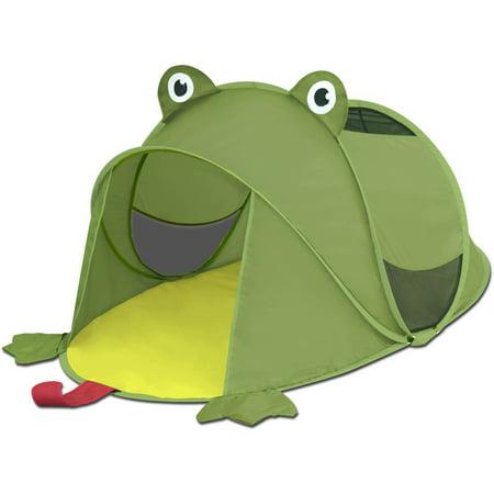 kids pop up tent frog. Black Bedroom Furniture Sets. Home Design Ideas