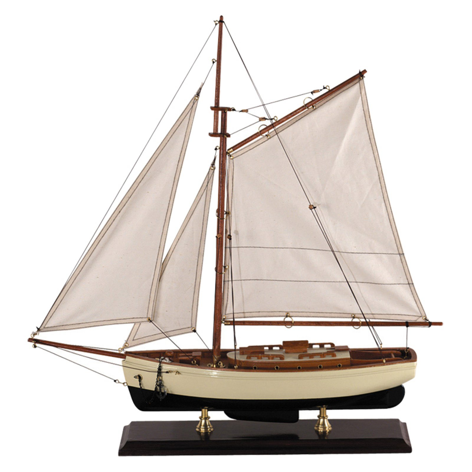 Authentic Models 1930's Classic Yacht - Small