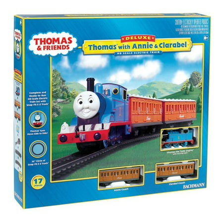 Bachmann Trains HO Scale Thomas with Annie & Clarabel Ready To Run Electric Train Set