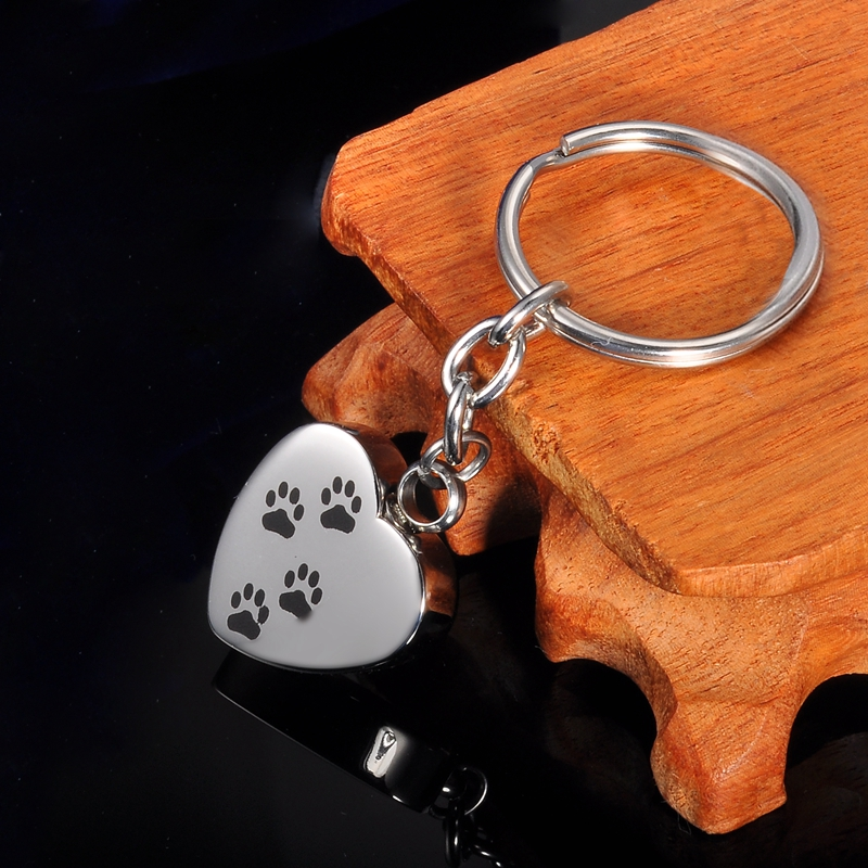 Friend Family Sets Pet Cremation Key Ring with Custom Photo and Cremation Urn Loss of Family Member
