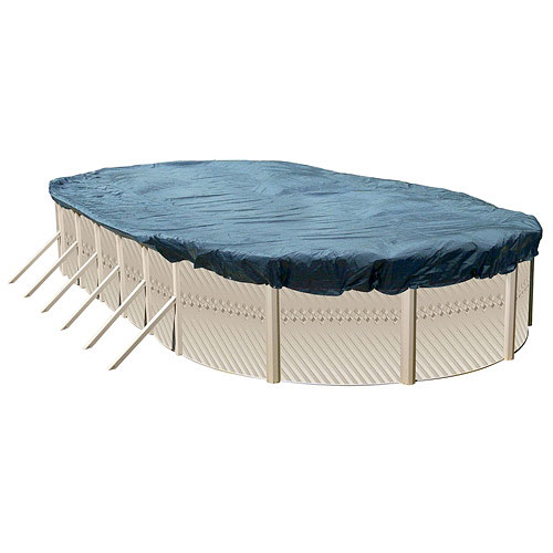 Heritage Oval Deluxe Winter Pool Cover, 24' x 12'