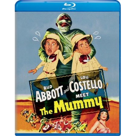 Image of Abbott And Costello Meet The Mummy (Blu-ray)
