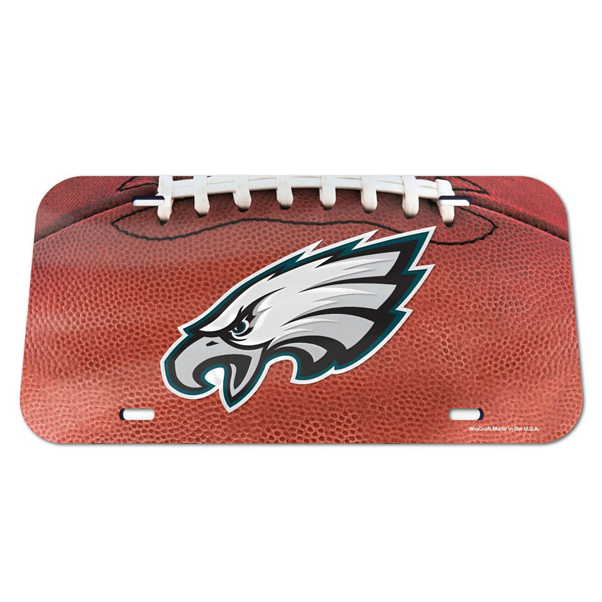 Philadelphia Eagles WinCraft Football Crystal Mirror License Plate - No Size