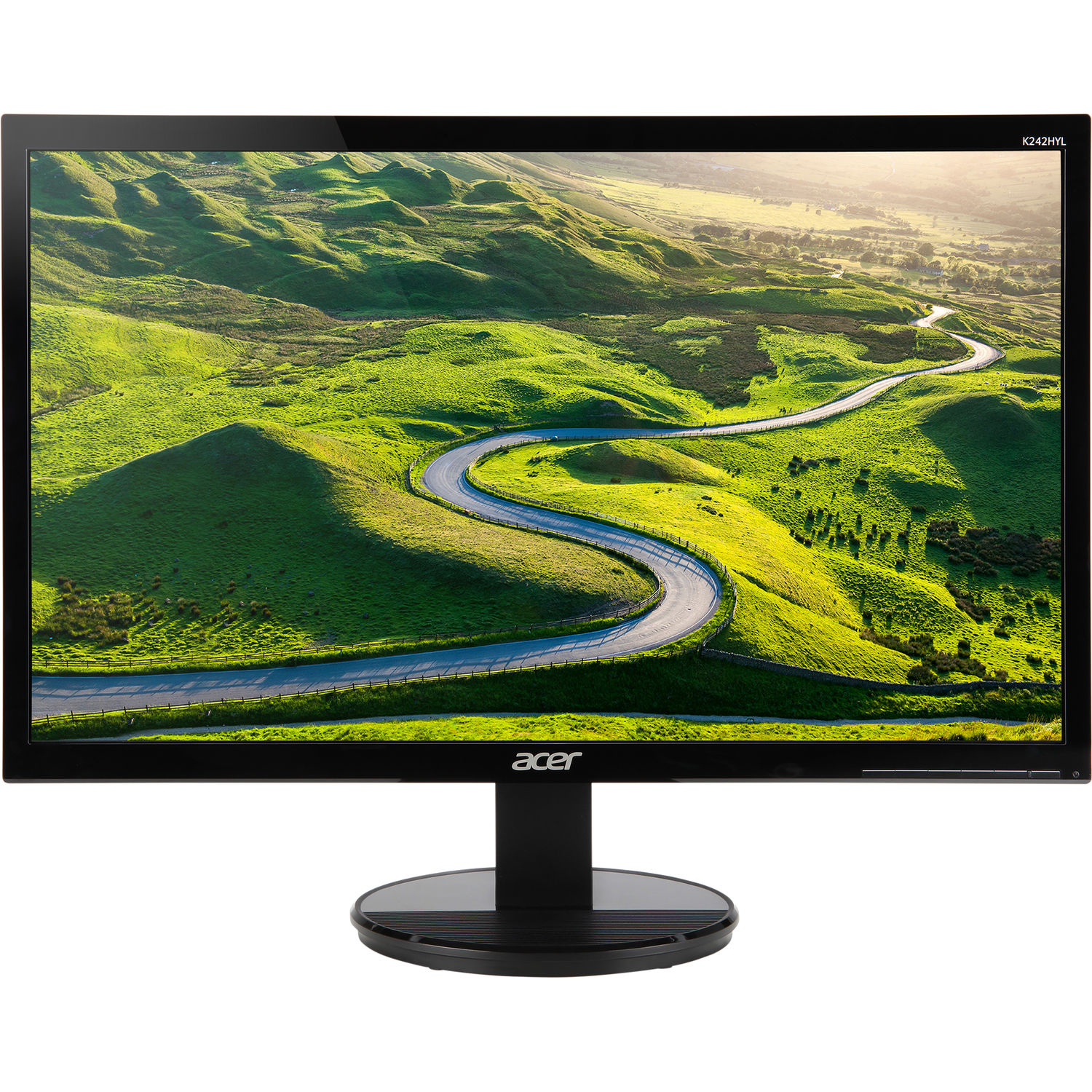 """Refurbished Acer K2 - 23.8"""" LCD Widescreen Monitor 16:9 Full HD 1920 x 1080 4ms 60Hz 250 nit"""