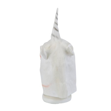 Halloween White Unicorn Horse Head Mask Latex for a Crazy Cosplay - Halloween Party Food For A Crowd