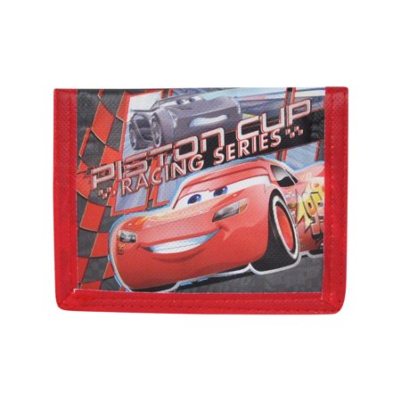 Pixar Cars 3 Lightning McQueen Party Favor Set of Bi-Fold Wallets CHOOSE QTY for $<!---->