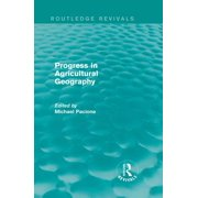Progress in Agricultural Geography (Routledge Revivals) - eBook