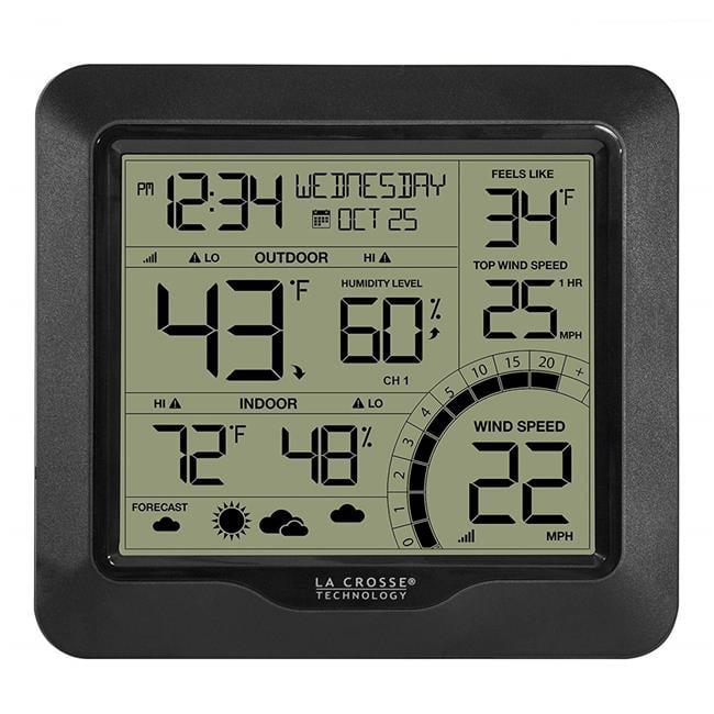 Lacrosse 327-1417BW Professional Wind Speed Weather Station - image 1 de 1
