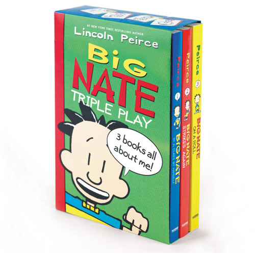 Big Nate Triple Play Box Set: In a Class by Himself, Big Nate Strikes Again, Big Nate on a Roll